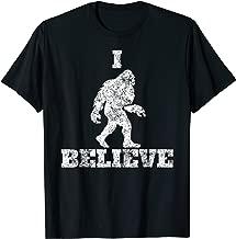 I Believe in Bigfoot Tee Sasquatch Urban Legends Skunk Ape