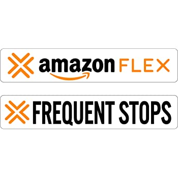 Designer Signs Amazon Flex Delivery Decals or Magnets