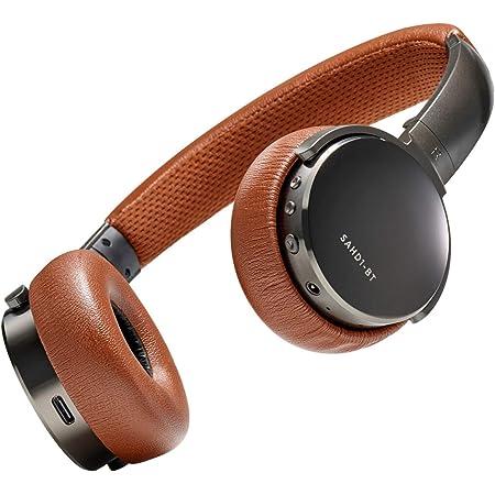 Status Audio BT One Wireless On-Ear Headphones - Bluetooth 5.0. + apt-X, 30 Hours of Battery, USB-C + Quick Charge, Award Winning Sound + Minimalist Metal Design, Gunmetal Grey + Brown (Umber)