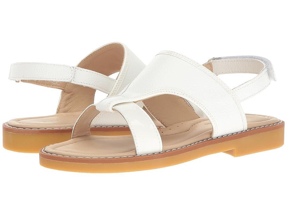 Elephantito Claudia Sandal (Toddler/Little Kid/Big Kid) (White) Girls Shoes