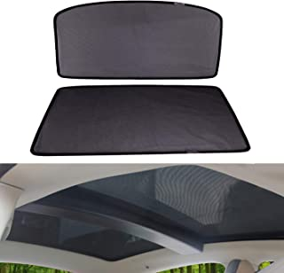 OMOTOR Sunshade Sunroof fit for Tesla Model S 2012-2018 Version (2 Pieces)