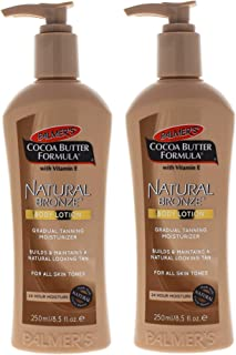 Palmers Cocoa Butter Natural Bronze Body Lotion - Pack of 2-8.5 oz Body Lotion