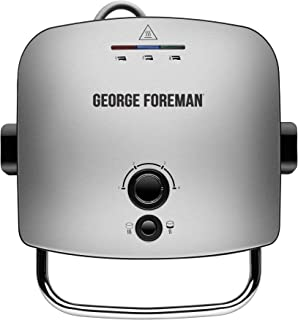 GEORGE FOREMAN ADVANCED GRILL & MELT WITH REMOVABLE PLATES - 22160