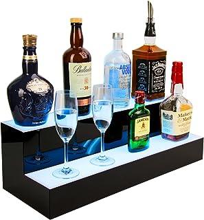 J JACKCUBE DESIGN 2 Step LED Lighted Liquor Bottle,...