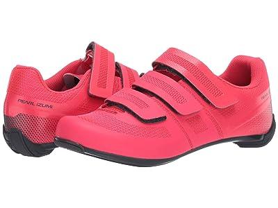Pearl Izumi Quest Road Cycling Shoe (Atomic Red/Turbulence) Women