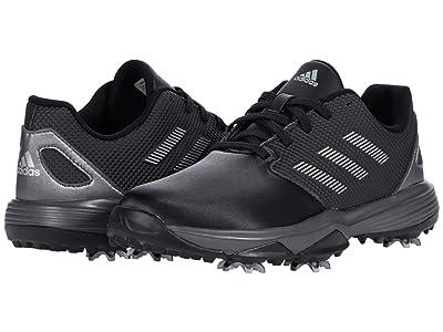 adidas Golf Jr. ZG21 (Little Kid/Big Kid) (Core Black/Silver Mettalic/Silver Metallic) Golf Shoes