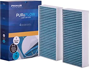 Pureflow Cabin Air Filter PC9376X | Fits 2012 Mercedes-Benz E550, 2007-09 GL320, 2010-12 GL350, 2007-12 GL450, 2008-12 GL550, 2007-09 ML320, 2006-11 ML350, 2010-11 ML450, 2008-11 ML550, 2016-19 GLE400