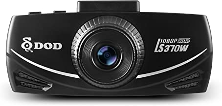 DOD LS370W Full 1080P Dash Cam, Sony Exmor, WDR, Built in G-Sensor, SOS File Locking, One Touch on/Off Audio Recording, Free 8GB microSD Card Included