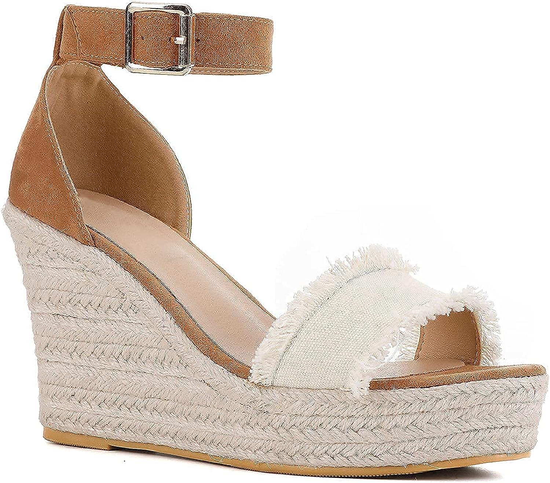 New color Women'S Summer Wedge Sandals Adjustable Waterproof Ankl Platform 2021 spring and summer new