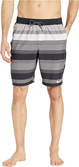 "9"" 6:1 Linen Racer Volley Shorts"