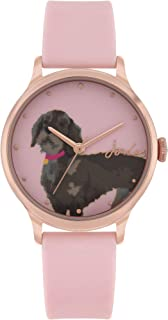 Joules Women's Analogue Quartz Watch with Silicone Strap JSL010PRG