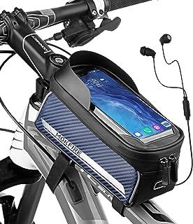 RNOX Bike Phone Bag Bicycle Pouch Waterproof Top Tube...