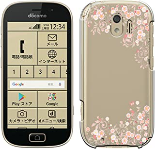 [Breeze-正規品] iPhone ・ スマホケース ポリカーボネイト [透明-Pink]らくらくスマートフォンmeケース らくらくスマートフォンme F-03Kケース F03Kカバー docomo 富士通 FUJITSUケース カバー 液晶保護フィルム付 全機種対応 [F03K] [F03K1810UZ]