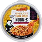 Lee Kum Kee Panda Brand Chinese Style Dan Dan Noodles with Peanut Sauce & Sesame Oil, 11.7 Ounces, Zero Artificial Flavors (Pack of 6)