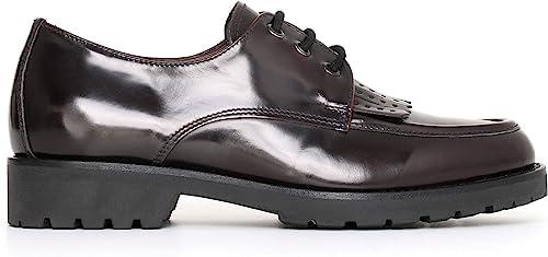 Nero giardini scarpe stringate donna in pelle A719311D 613