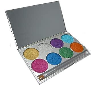 808 Mehron Paradise Makeup Brilliant 8-Color Palette Paradise Makeup Kit