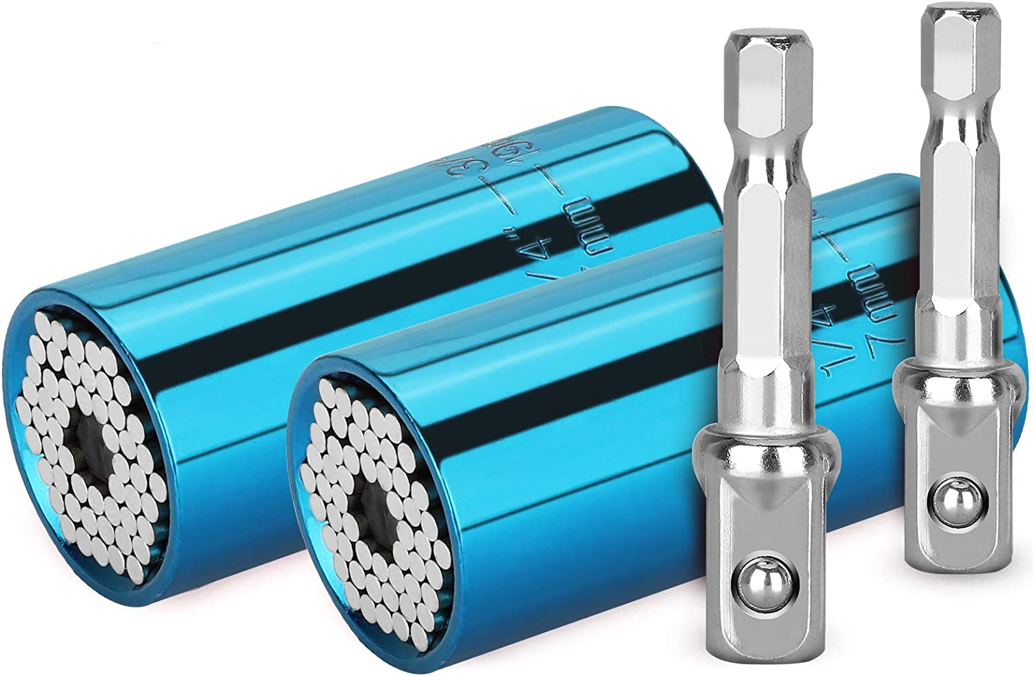 4 Pack Universal Socket Gifts Wrench Men Max 80% OFF Long-awaited G for