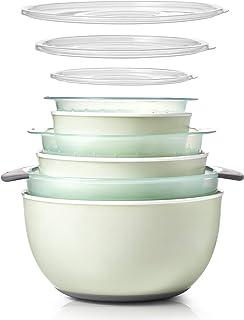OXO Good Grips 9-Piece Nesting Bowl & Colander Set