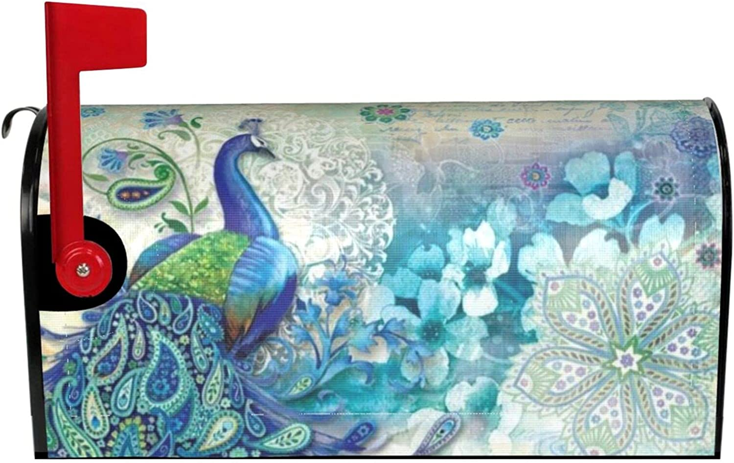 ~ Sales results No. 1 Peacocks and Flowers San Jose Mall Waterproof Mailbox Cover Magnetic