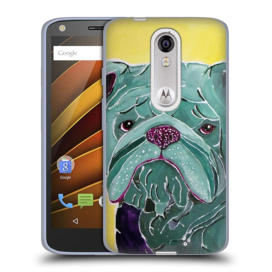 Official Lauren Moss Roscoe Dogs Soft Gel Case for Droid Turbo 2 / X Force