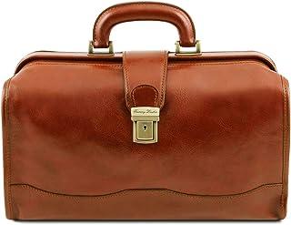 Tuscany Leather Raffaello Borsa medico in pelle Miele