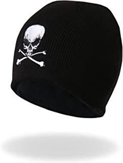 Hot Leathers KHB1010 Skull and Crossbones Beanie