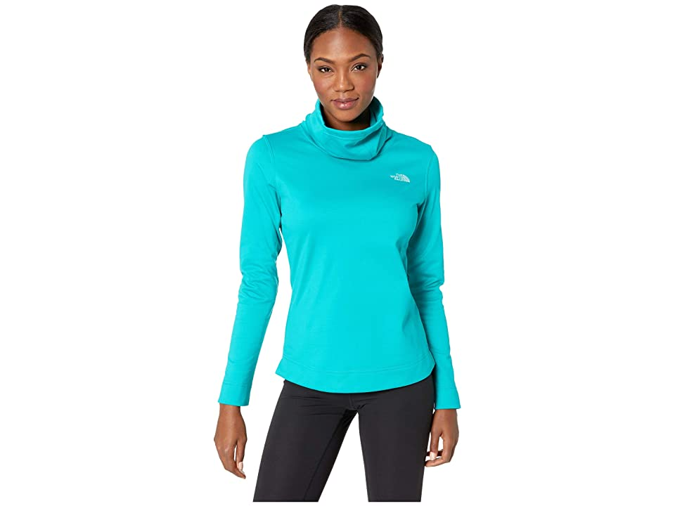 The North Face Novelty Glacier Pullover (Kokomo Green Stria) Women