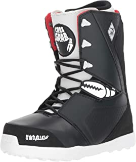 ThirtyTwo Lashed Crab Grab '18 Snowboard Boots, Size 10, Black Raw