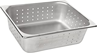 """Benchmark 56743 Half-Size Perforated Pan, 12-1/2"""" Length x 10-1/4"""" Width x 4"""" Height"""