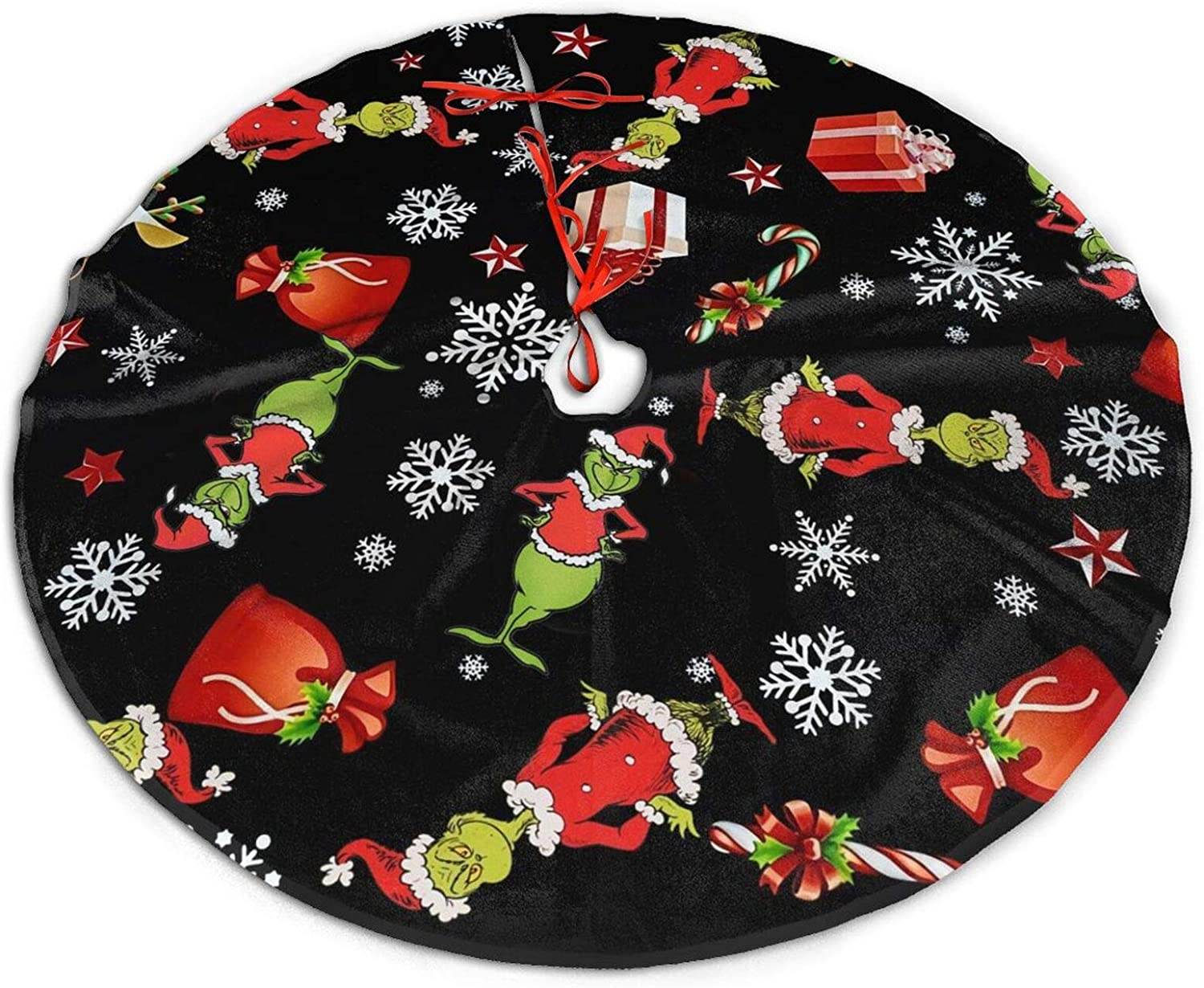 Funny Raleigh Mall Lightweight Merry Christmas Tree Easy Put XmasH to Max 73% OFF Skirt