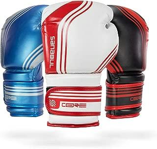 Sanabul Core Series Gel Boxing Kickboxing Training Gloves