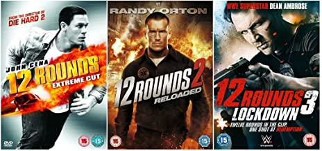 12 Rounds 1-3 Complete Collection - 12 Rounds: Extended Harder Cut / 12 Rounds 2: Reloaded / 12 Rounds 3: Lockdown + Special Features: Audio commentary (with Roel Reiné and Radu Ion) + Three Featurettes: Randy Orton Reloaded; Locations: From Heller's Lair to the Sugar Factory; The Action of 12 Rounds 2: Reloaded