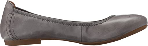 Grey Full Grain Leather
