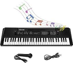 M SANMERSEN Kids Music Piano Keyboard, 61 Keys Piano Keyboar