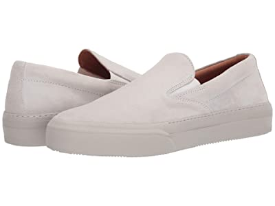 John Varvatos Collection 315 Mac Skate Slip-On Sneaker (Bone White) Men