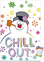 Trends International Frosty The Snowman-Chill Mount Wall Poster, 22.375