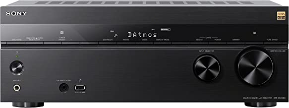 Sony STR-DN1080 Surround Sound Receiver: 7.2 Channel Dolby Atmos Home Theater AV Receiver..