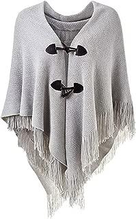 Large Warm Poncho for Women,Fashion Lightweight Fall Winter Poncho Cape