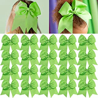 Best lime green hair bows Reviews