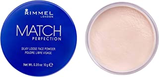 Rimmel London Match Perfection Silky Loose Face Powder, 10g