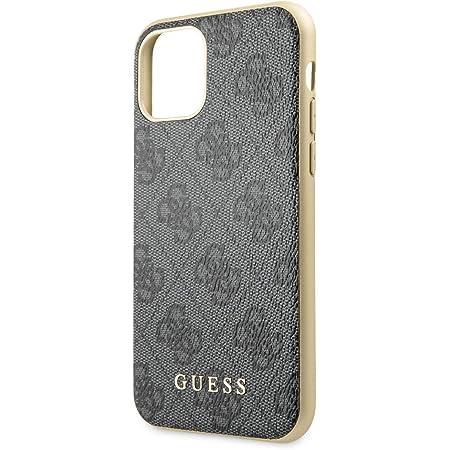 Guess Hülle Glitter 4g Stripe Collection Für Iphone 11 Grau Guhcn61g4glgr Elektronik