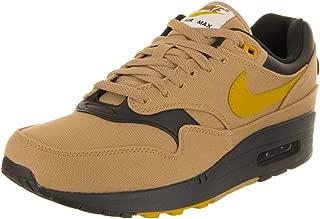 Nike Men's AIR MAX 1 Premium Shoe Gold/Yellow/Black (13 D(M) US)