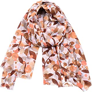 HENWERD Womens Embroidery Chiffon Scarf Hijab Wrap Shawls Headband Muslim Hijabs Scarf
