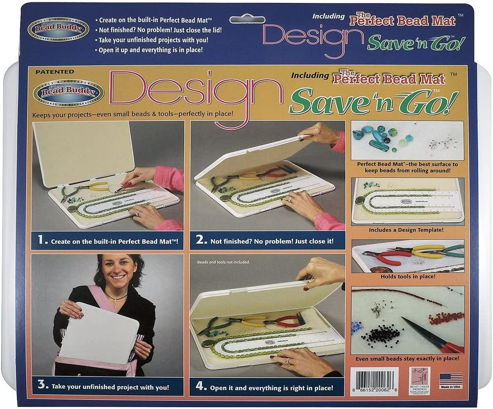 Bead Buddy Design Save and Go Portable Kit - Beading 70% OFF Outlet Ranking TOP20 Pro