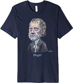 Georg Wilhelm Friedrich Hegel caricature
