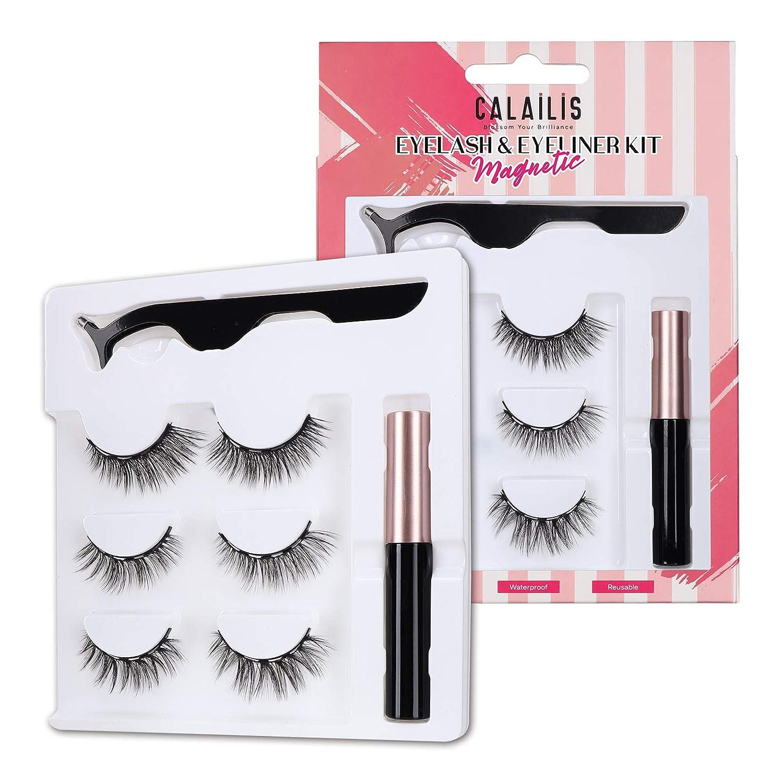 CALAILIS Magnetic Cash special price Directly managed store Eyeliner and Lashe Kit for Eyelashes