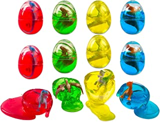 Slime Putty Toy Filled Easter Eggs - With Dinosaur Surprise Toy - 2.5