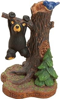 DEMDACO Hang in There Mini Black Bear 4.5 x 3 Hand-cast Resin Figurine Sculpture