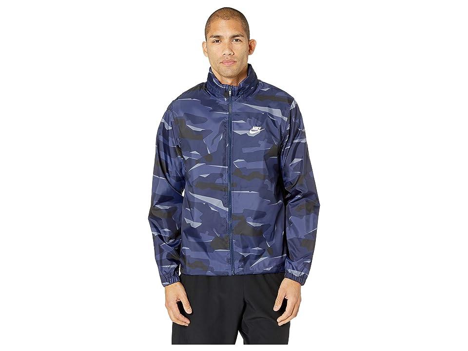 Official Nike NSW JD Windbreaker Jacket FirFirWhite Mens