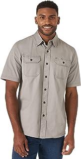 پیراهن Wrangler Authentics مردانه هر چیزی پیراهن آستین کوتاه بافته شده